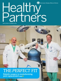 SGHS Healthy Partners Magazine Summer 2016 Edition